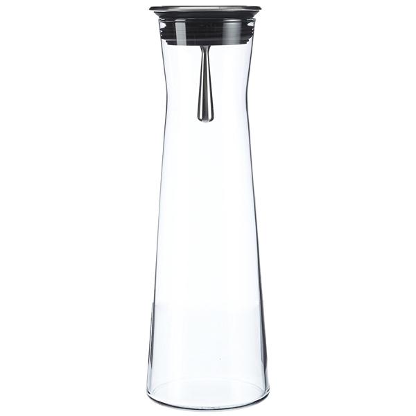 Formschöne Karaffe von Bohemia Cristal aus stabilem Borosilikatglas. (Foto: Amazon)
